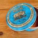 Reuzel Blue -- pomadoro -- Frisurenstyling mit Pomade -- Rocakbilly Frisuren, Haarpomade